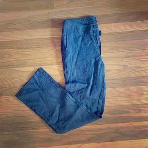 NWT JONES & CO linen pant.